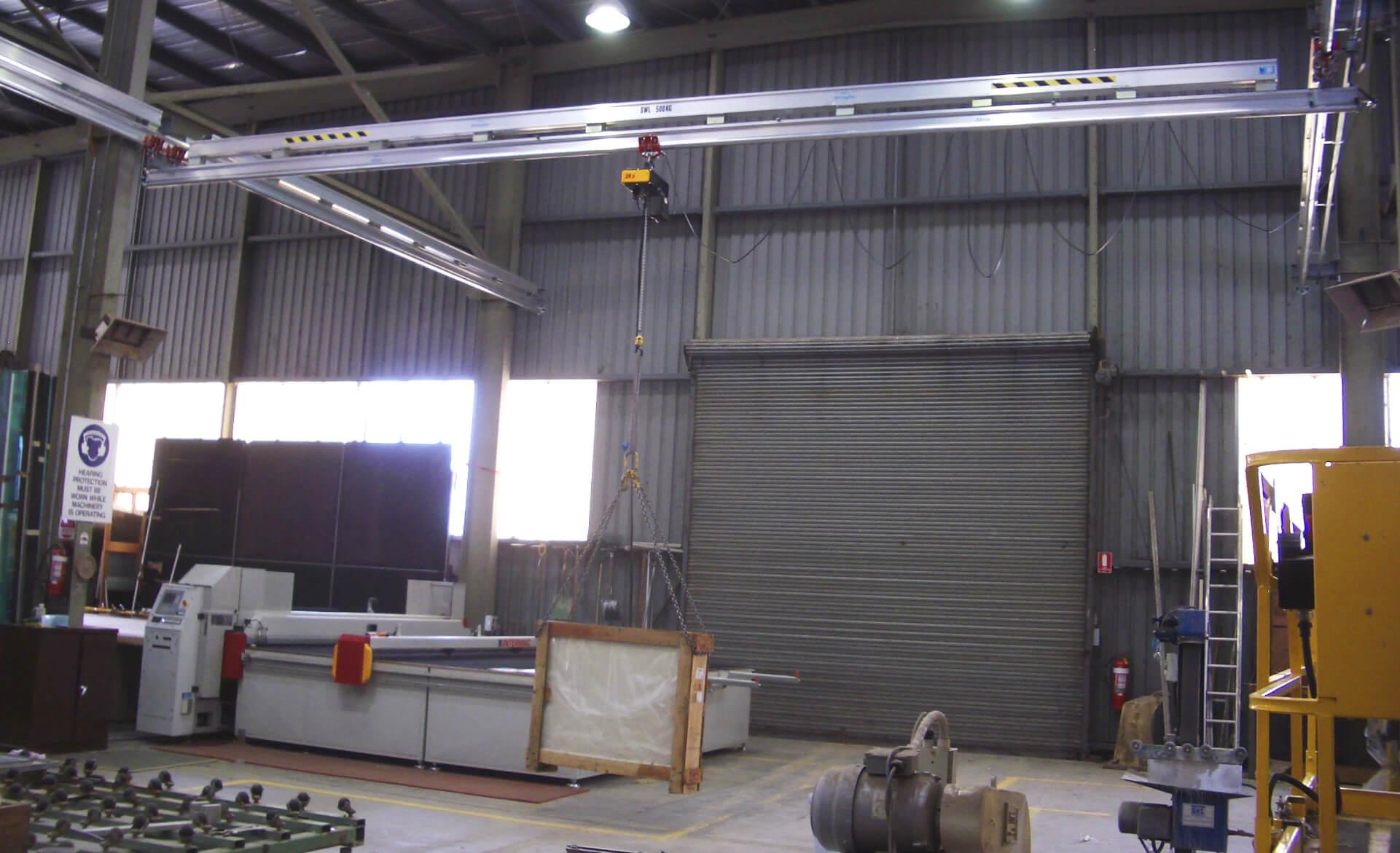 Gantry Crane Warehouse