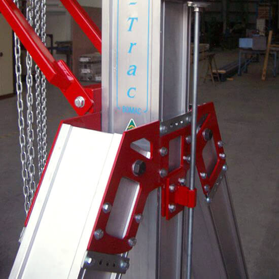 Mobitrac Mobile Crane Assembly Brackets